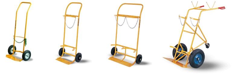 Wózki do butli gazowych
